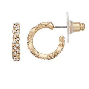 Lauren Conrad Gold Nickel Free Earrings